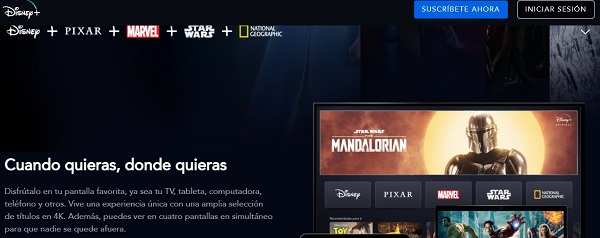 pagar Disney Plus con Mercado Pago